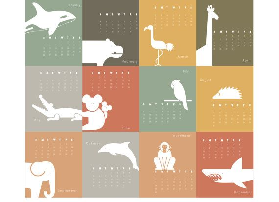 Cute Calendar Illustration : Ideas about cute animal illustration on pinterest