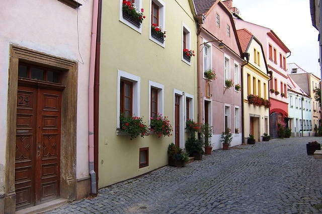 Olomouc, central Moravia. My gradmother-in-law lives here.