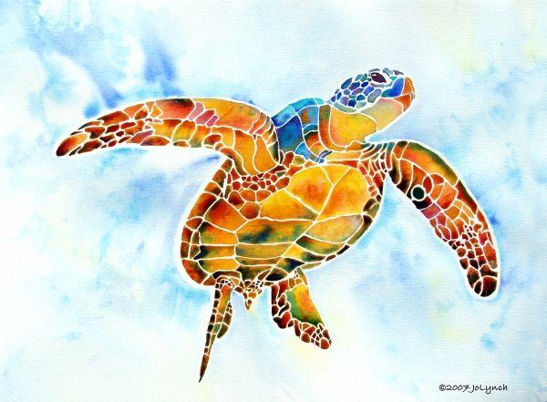 Jo Lynch - Sea Turtle Gentle Giant