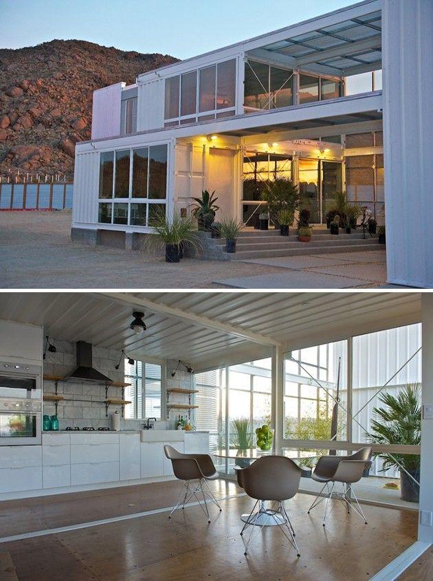 127 best casas hechas con contenedores images on pinterest - Casa hecha de contenedores ...