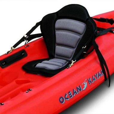 The GTS Elite kayak seat was modeled after the seats used by race car drivers. Benefit from the experience.