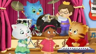 In this video excerpt, Daniel Tiger and his friends sing a song about conquering anger by counting to four. They find that getting mad when things go wrong is normal, but when you get mad, stop, count to four, and then you'll be able to reflect and come up with a solution to the problem that makes you happier. In the related activity, use music and movement to help children practice slowing down and controlling their actions. Before children can think clearly enough to deal constructively…