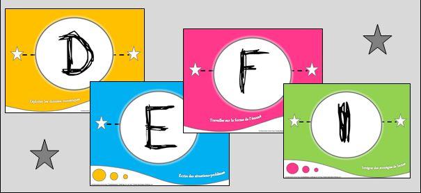 Les cartes AUTOMATHS - lala aime sa classe