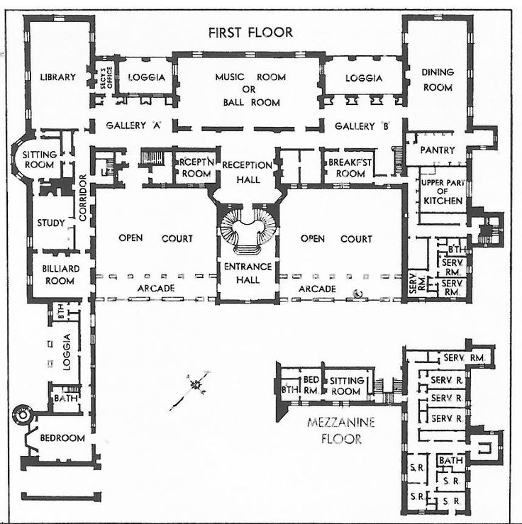 oheka castle floor plan   TheFloors.Co