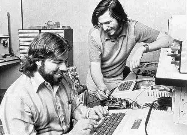 Steve Jobs & Steve Wozniak
