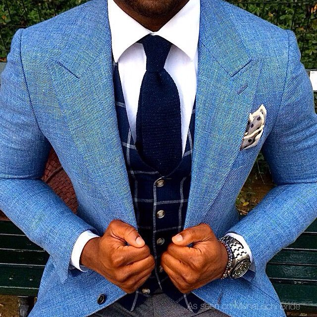 This entire combination is quite #dapper. Would your guy wear this? #munagroom #dailydoseofdapper #sartorial rg from @koreyfrancois