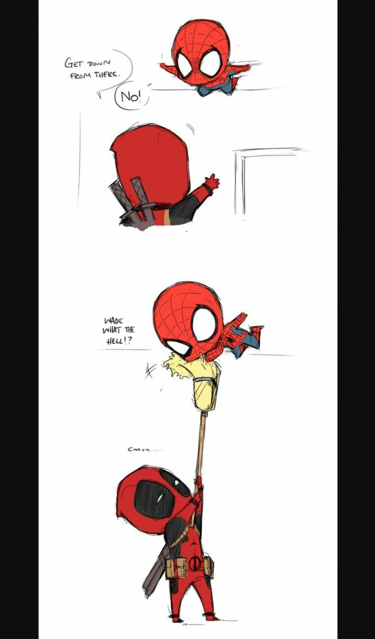 Images of Deadpool And Spiderman Fanfiction - www