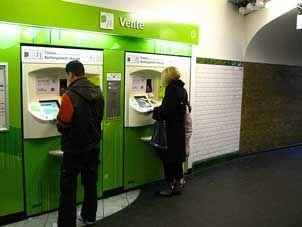 RER tickets
