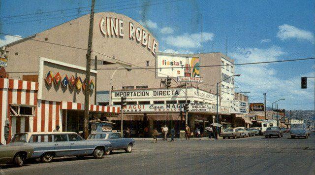 Cine Roble, Tijuana, Mexico.