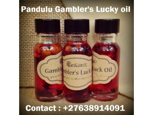Pandulu Lucky Oil for money ,luck and business ,Call +27638914091