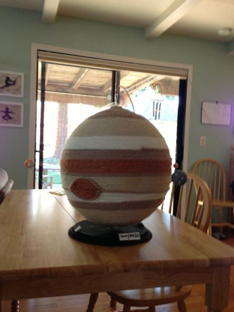 planet jupiter sytrofoam model - photo #43