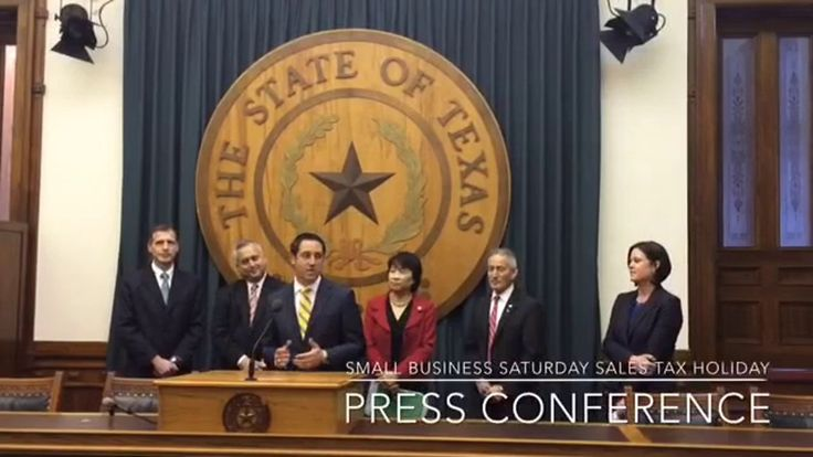 Texas Small Business Saturday Sales Tax Holiday