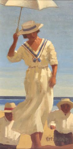 Jack Vettriano - Woman Pursued