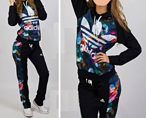 girls in adidas tracksuit - Google Search                                                                                                                                                                                 More