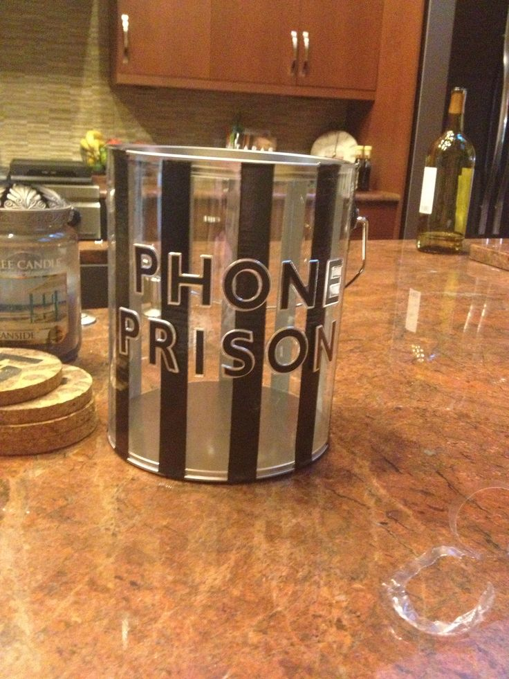 My version of the cell phone prison