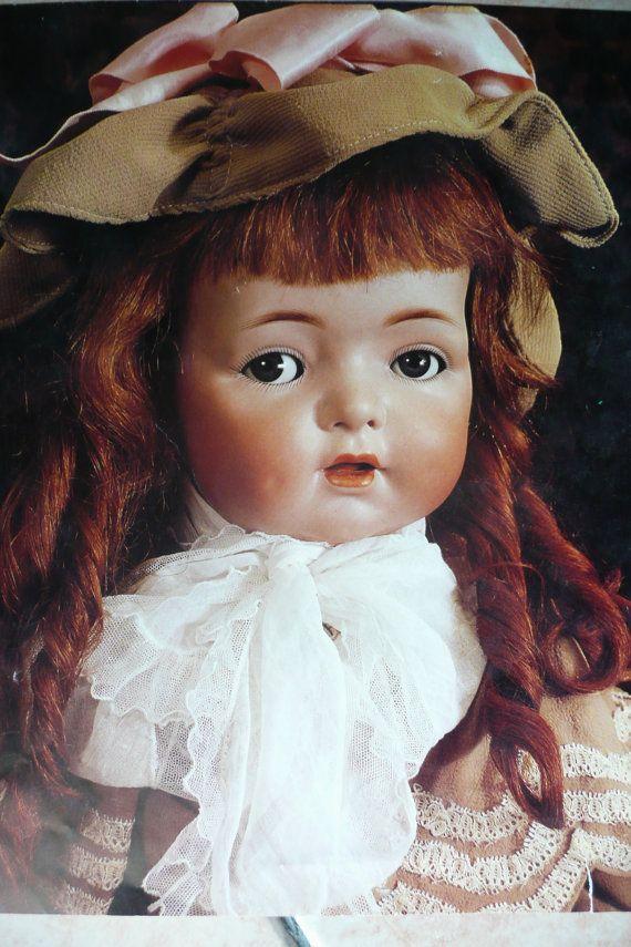 Poster bambola antica. Bambole di biscuit. Da di bamboleantiche, €10.00