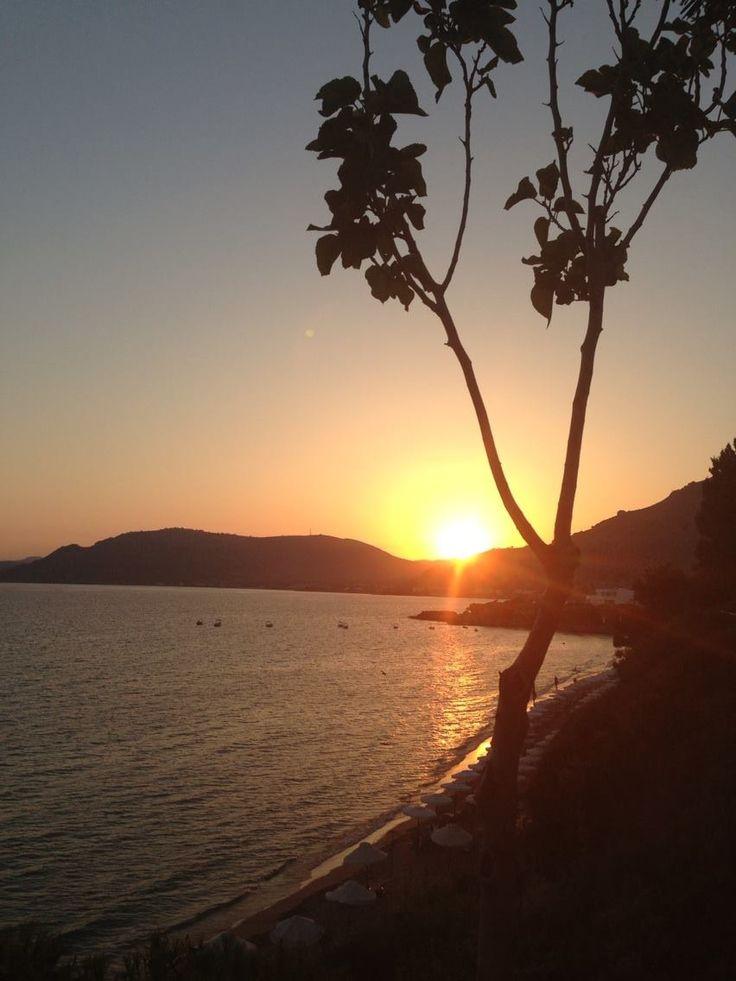 Sunset in Pefkos, Rhodes