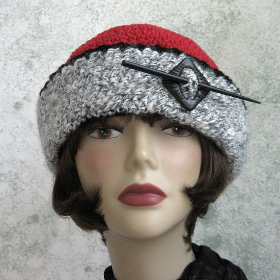 Womens Victorian Style Crochet Hat Pattern With by kalliedesigns