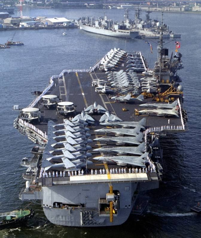 Forrestal class USS Ranger (CV-61), stern                              …