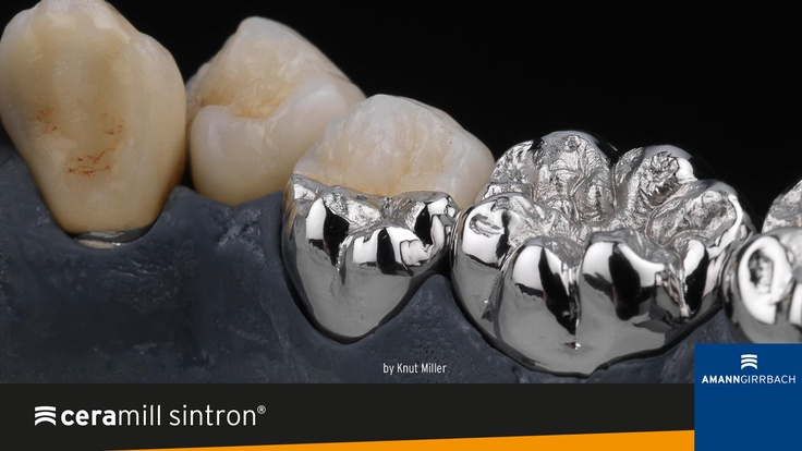 Ceramill Sintron® - Dry millable CoCr blank