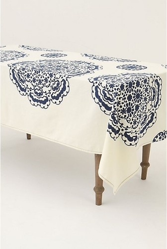 Mina Tablecloth   Eclectic   Table Linens   Other Metro   Anthropologie