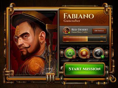 Steampunk Profile