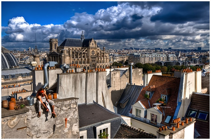 """""""Providentielle poiscaille"""" par Gaspard Noël, photographe vagabond.  Il expose pendant tout le mois d'avril chez """"Page 35""""  (4 rue du Parc Royal, 75003 Paris) !!"""