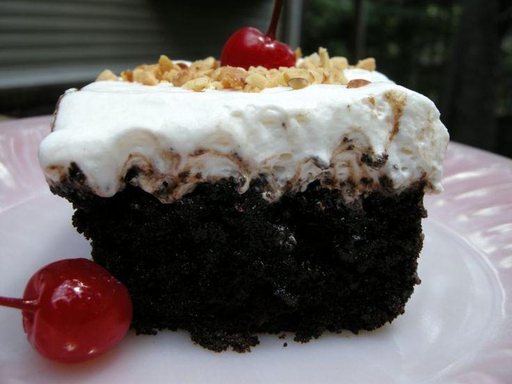 Chocolate sundae cake recipe
