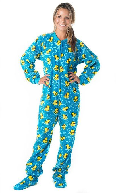 32 best images about Women's Footed Pajamas on Pinterest ...