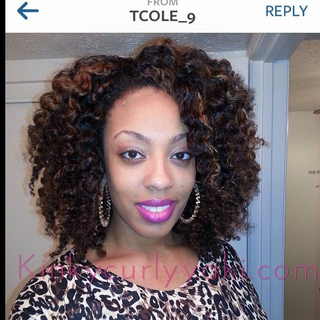 Natural Kinky Twist Wigs 47
