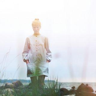 Cute Corinna coat-dress from Ivana Helsinki, a Finnish fashion, art and cinema brand