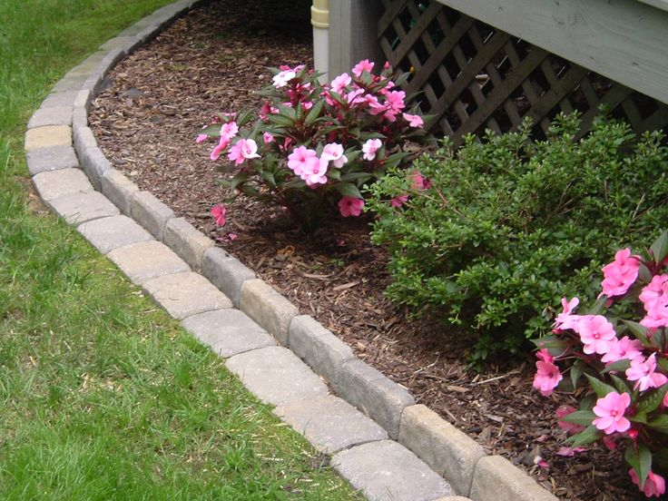 Cool edging for around the yard.