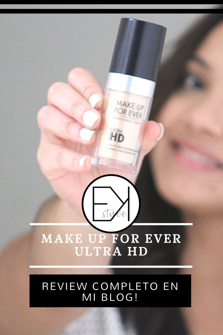 Make Up For Ever Ultra HD Review.