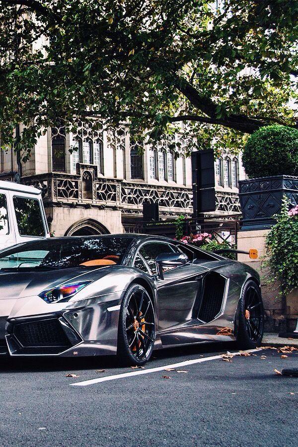 Chrome | Lamborghini Aventador | Lamborghini | Pinterest ...