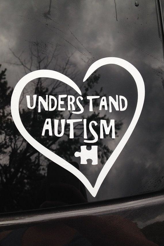Understand Autism car decal by thevinylmama on Etsy