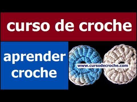 CURSO DE CROCHE BÁSICO PARA INICIANTES AULA 060/081 PONTO ROCOCÓ - YouTube