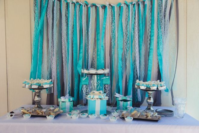 Tiffany & Co. themed bridal shower! Image: Jessica Swaner Photography