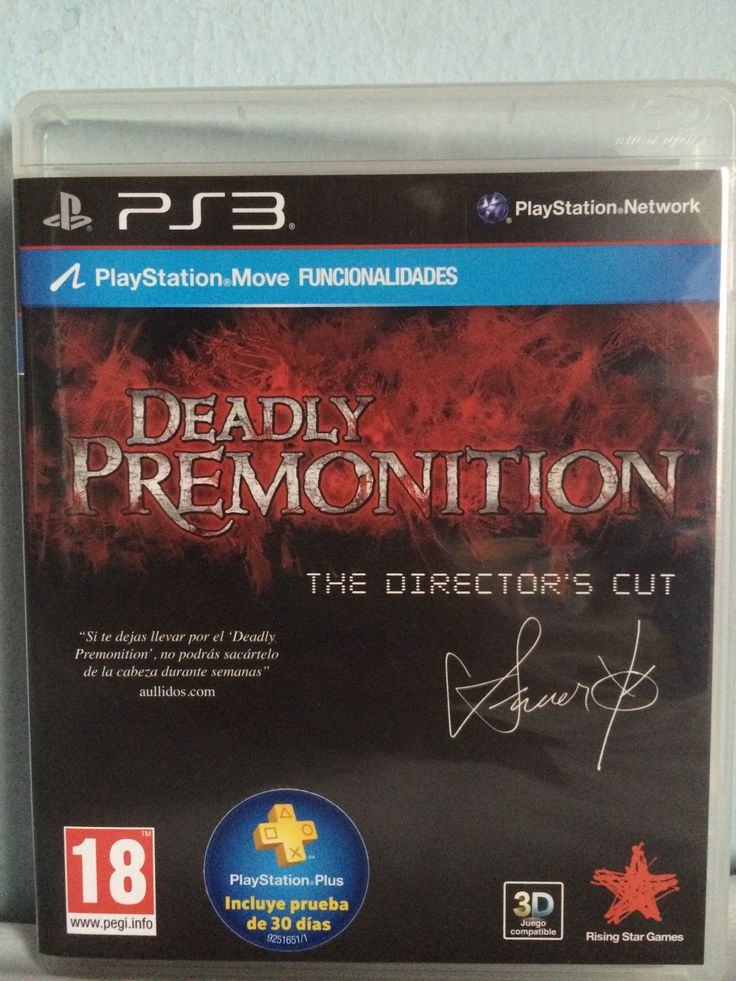 Deadly Premonition The Director's Cut game.
