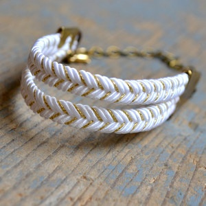 Boat Bracelet White, now featured on Fab.