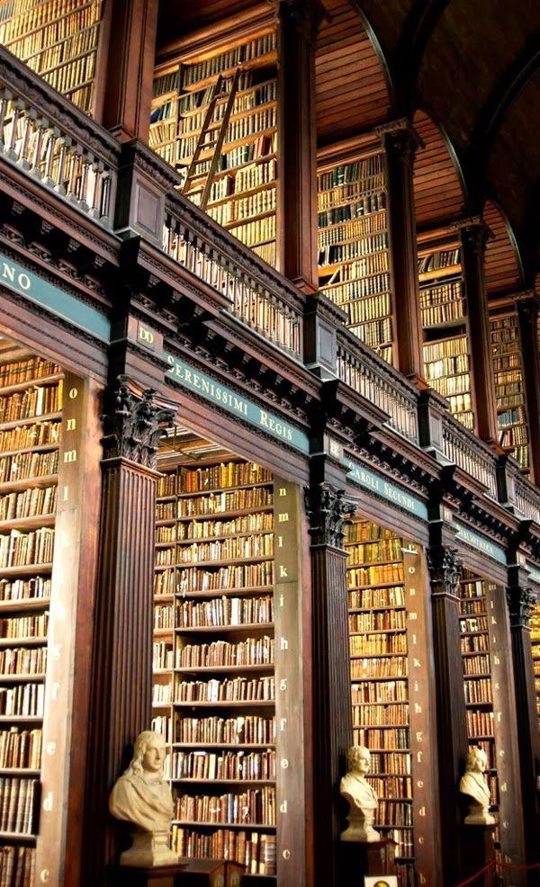 The Long Room The Trinity Library, Dublin Ireland