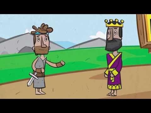David and Saul (1 Samuel 24) - YouTube