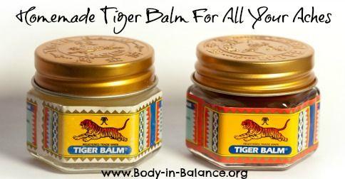 how to make white tiger balm
