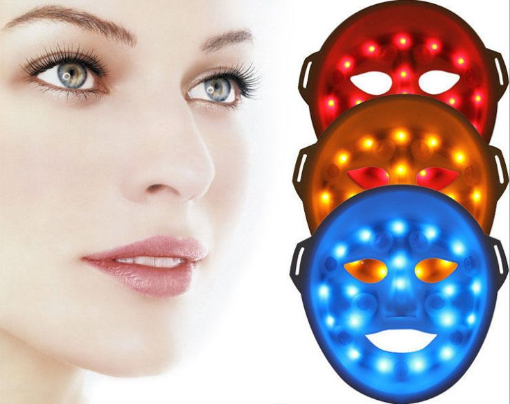 Led Red Blue Yellow 3d Light Skin Rejuvenation Therapy Led