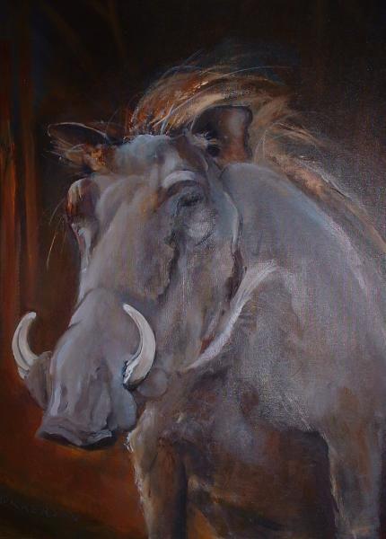 Warthog by Marlene Dickerson