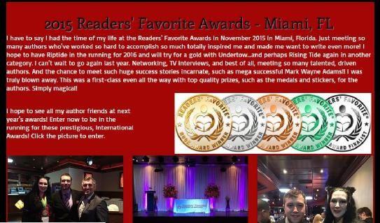 New post on @pjboox Signing http://bit.ly/21wEt1x & @Readersfavorite Awards http://bit.ly/1MXlbuM #ASMSG #IARTG