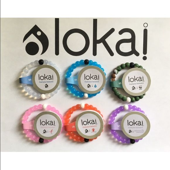 $15 for 3 Lokai Bracelets - Any Color - Any Size This listing is for 3 Lokai Bracelets. Each Lokai is infused with elements from the highest and lowest points on Earth. The bracelet's white bead carries water from Mt. Everest, and its black bead contains mud from the Dead Sea. Package will come with your choice of any 3 Lokai Bracelets. Please leave me a comment with the colors and sizes you would like. I also have Ⓜ️ercari- click on my webpage - use code ZWJFDW to sign up and get $2 to use…