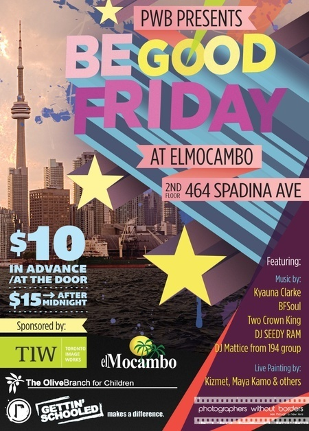 BE GOOD FRIDAY @ the ElMo - April 6, 2012