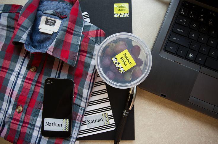 Étiquettes d'identification personnalisées   Customized Identification Labels