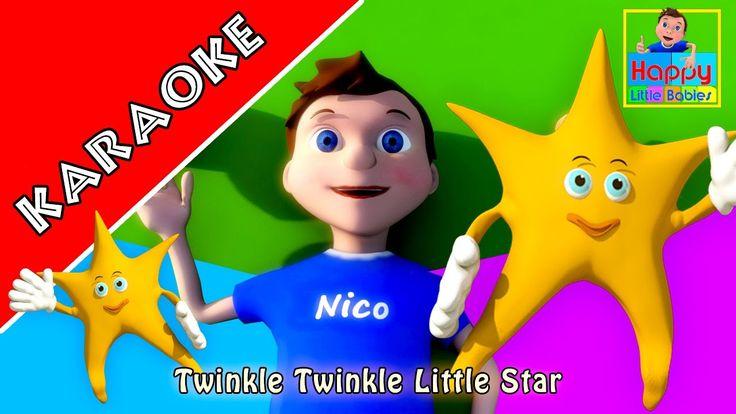 KARAOKE: Twinkle Twinkle Little Star - Instrumental Version With Lyrics ...