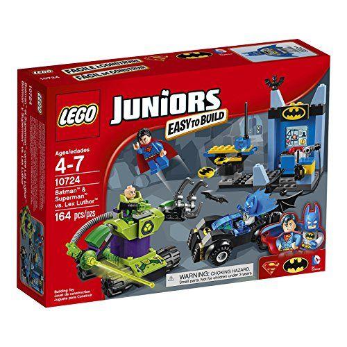 LEGO Juniors 10724 Batman & Superman vs Lex Luthor Building Kit (164 Piece) - Toys 4 My Kids